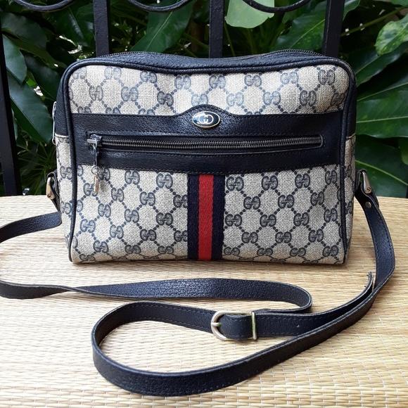 Gucci Bags   Vintage Gg Signature Ophidia Crossbody Bag   Poshmark 926481def6